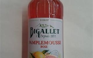 Sirop pamplemouse rose bigallet 1l